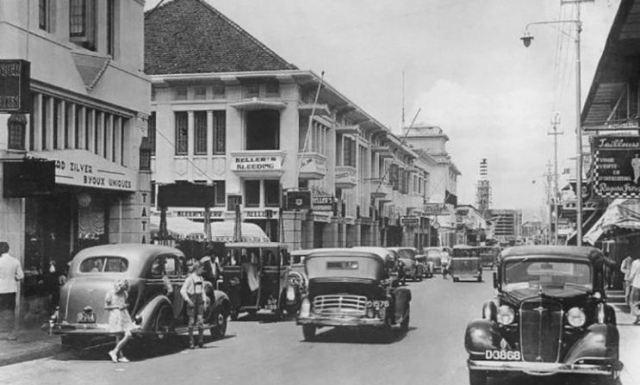 Jalan Braga Bandung Tempo Dulu