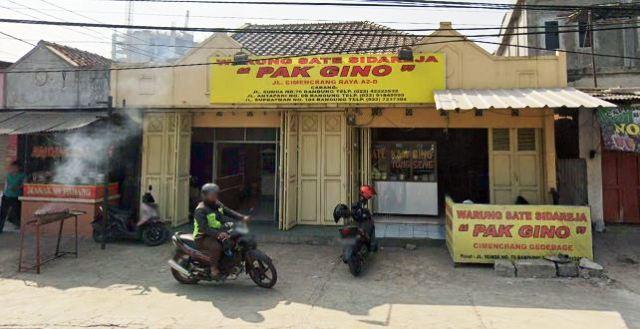 Sate Pak Gino Cimencrang Bandung
