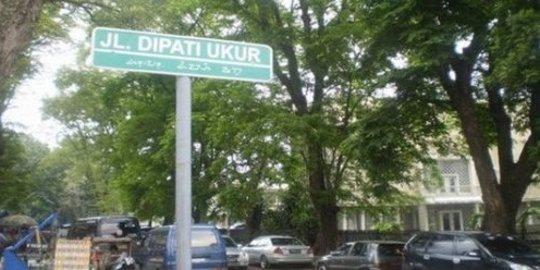 Sejarah dan Misteri Jalan Dipati Ukur Bandung