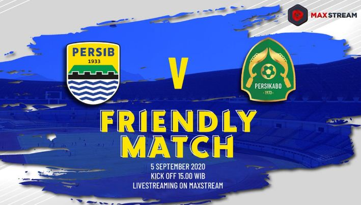 Jadwal Siaran Langsung Persib Bandung vs Tira Persikabo - Laga Uji Coba